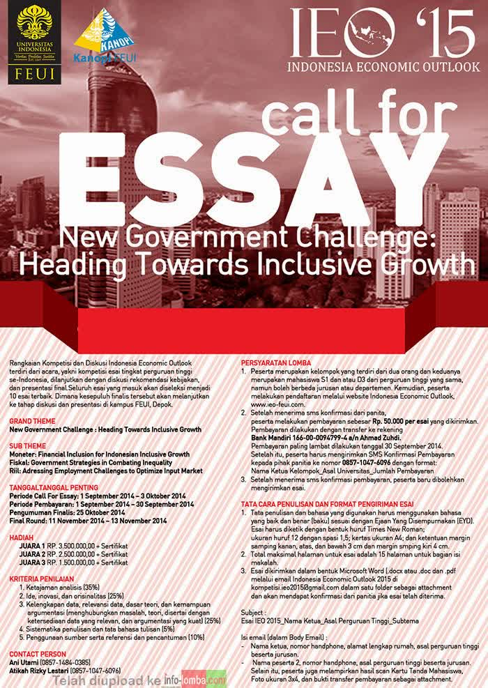 essay on inclusive economic growth